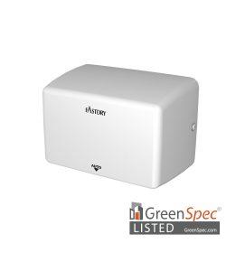 EcoFast01 Auto Hand Dryer Green Spec Listed