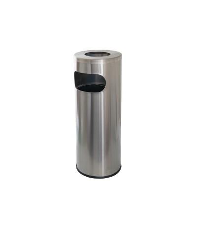 Stainless Steel Waste Receptacle
