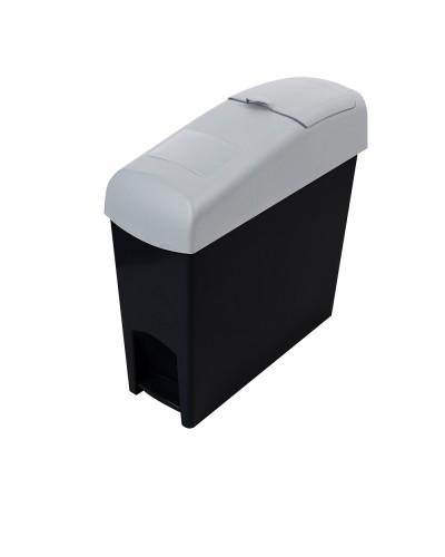 MSB606 i-pedal Lady Sanitary Bin Black