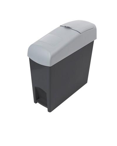 MSB606 i-pedal Lady Sanitary Bin Grey